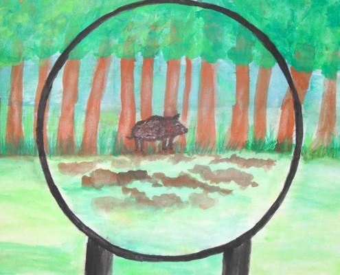 Kunst Wettbewerb Sek 1