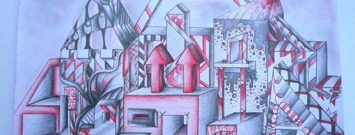 Kunst Zeichnung Sek 2